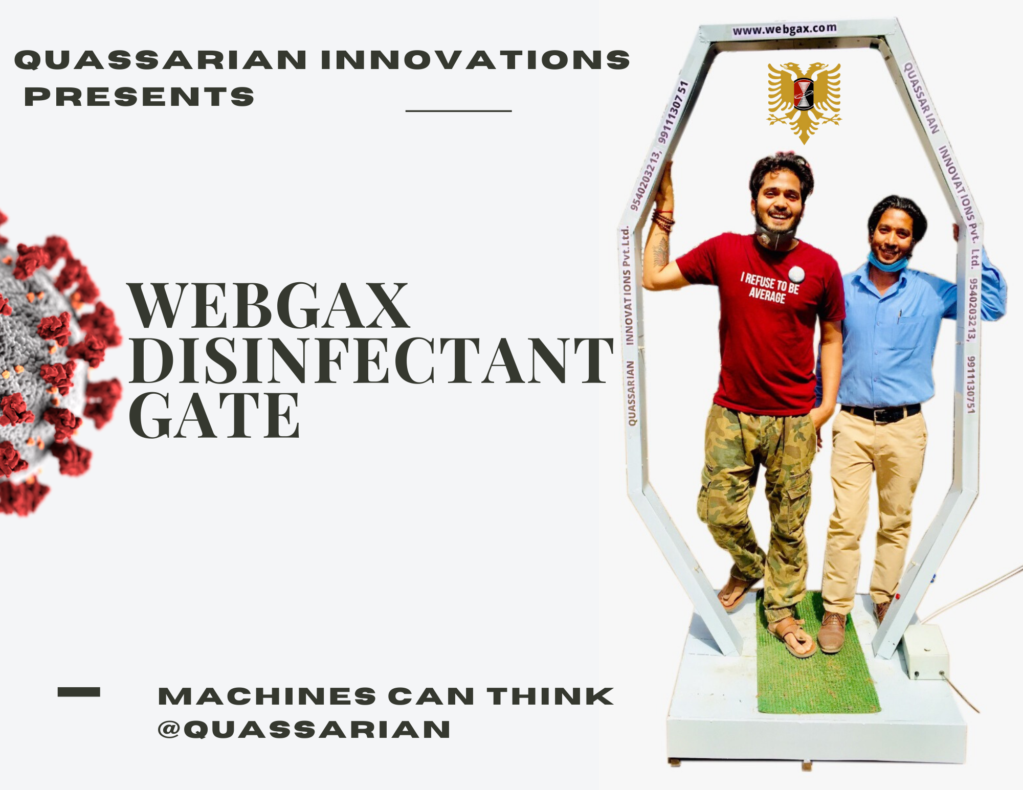 Webgax Disinfectant Gate