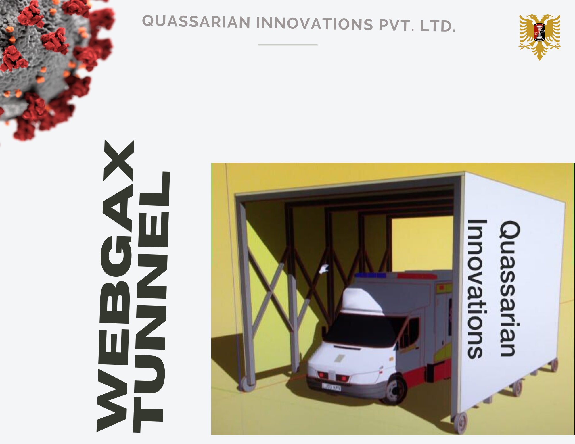 Webgax Tunnel Disinfector